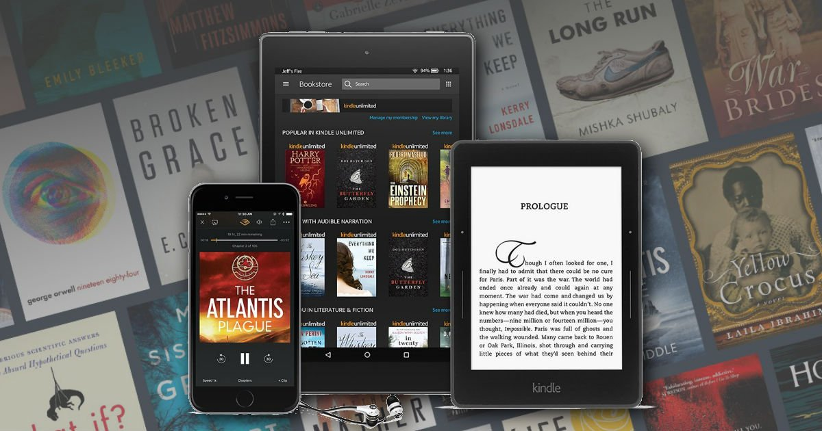 3 Months FREE of Kindle Unlimited ($29.97 Value!)