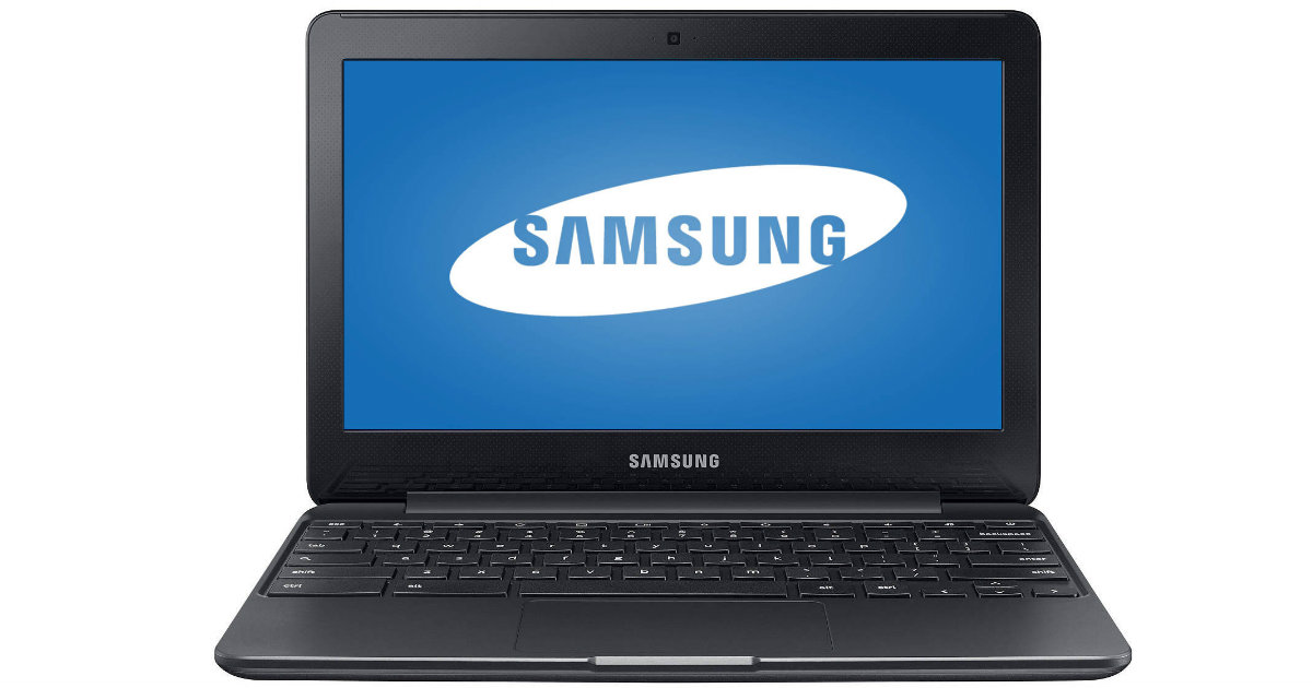 Samsung Chromebook at Walmart