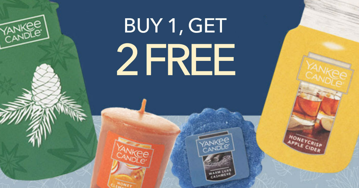 image regarding Yankee Candle Coupon Printable titled Yankee Candle Acquire 1 Take 2 Absolutely free Coupon - Printable Coupon codes