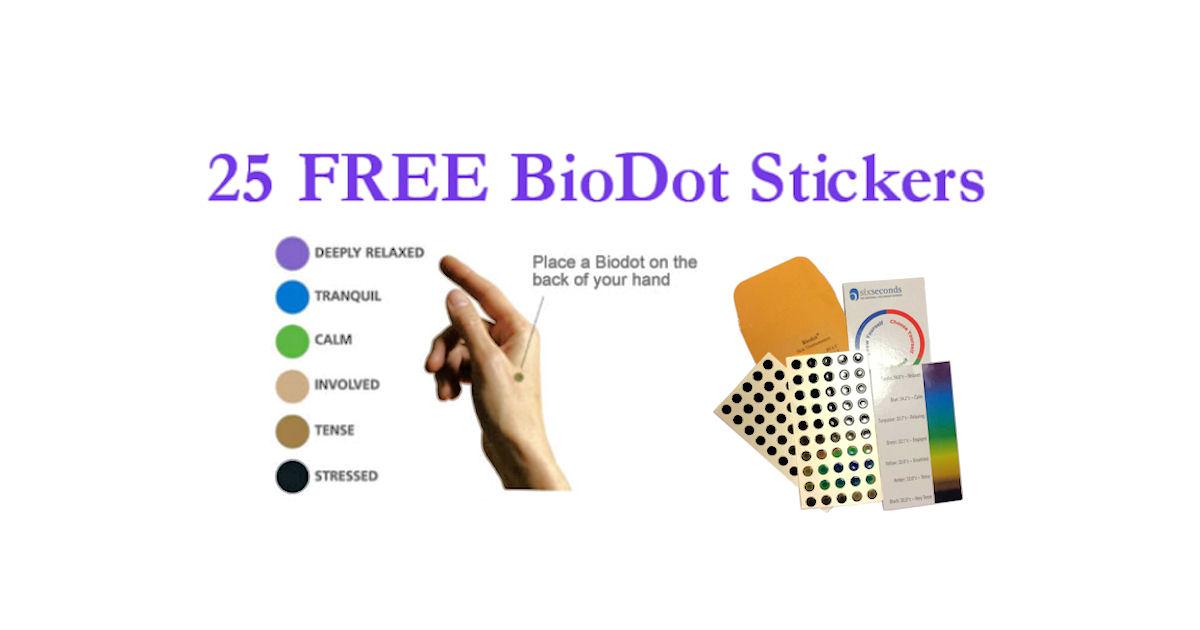 25 FREE Biodots & Biod...