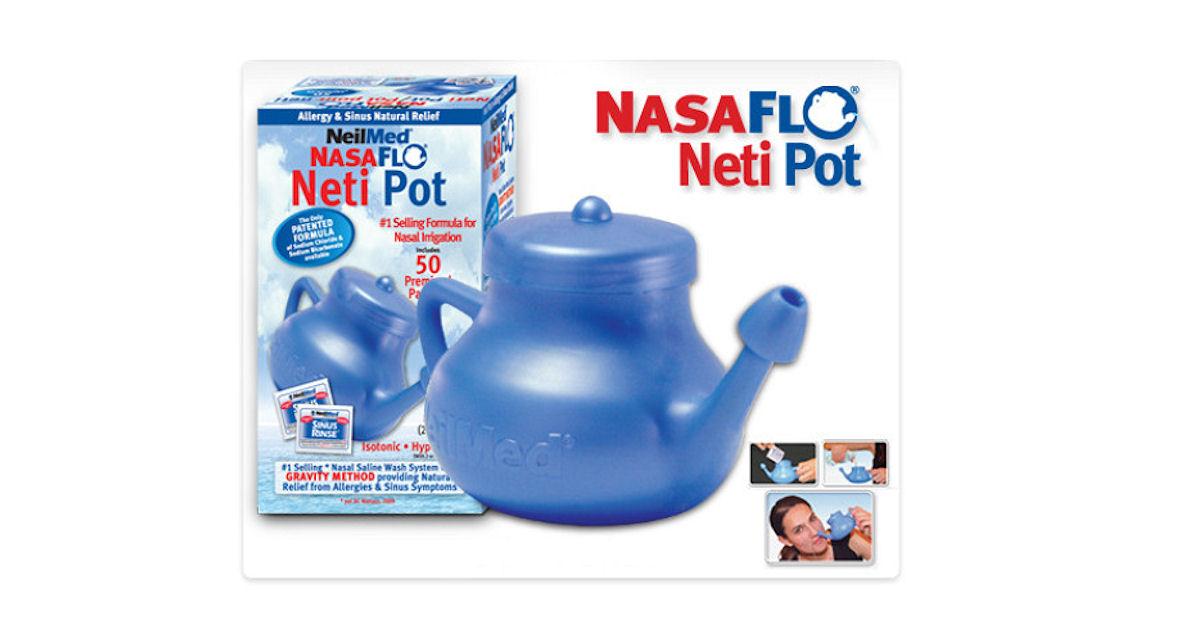 FREE NeilMed NasaFlo Neti Pot.