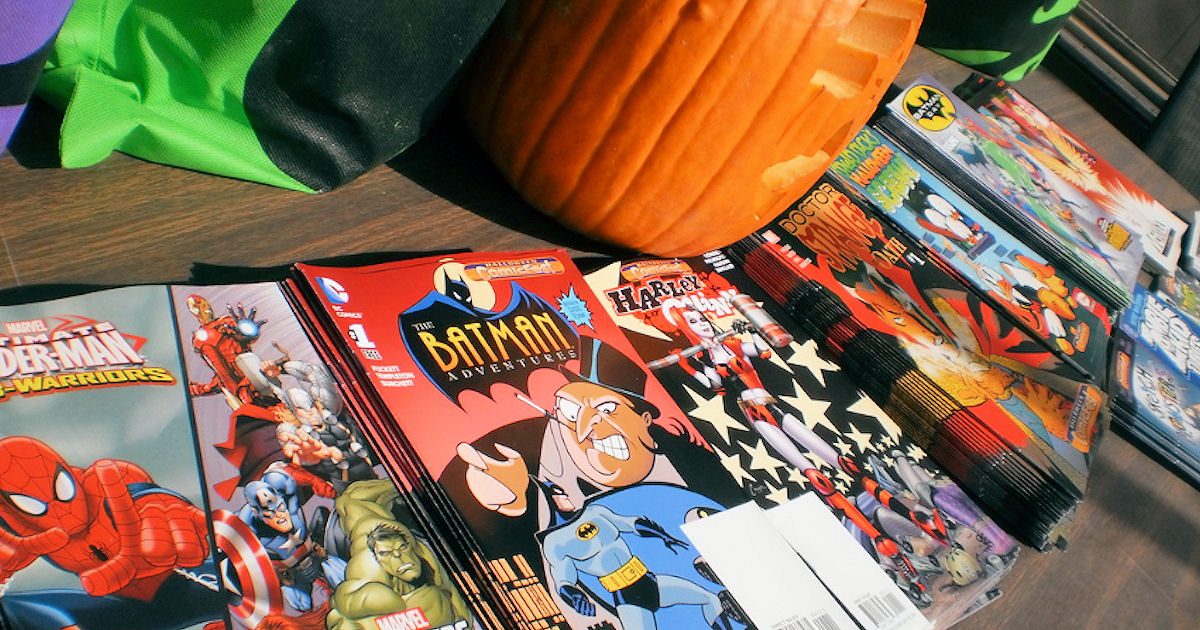 free comic books during halloween comicfest