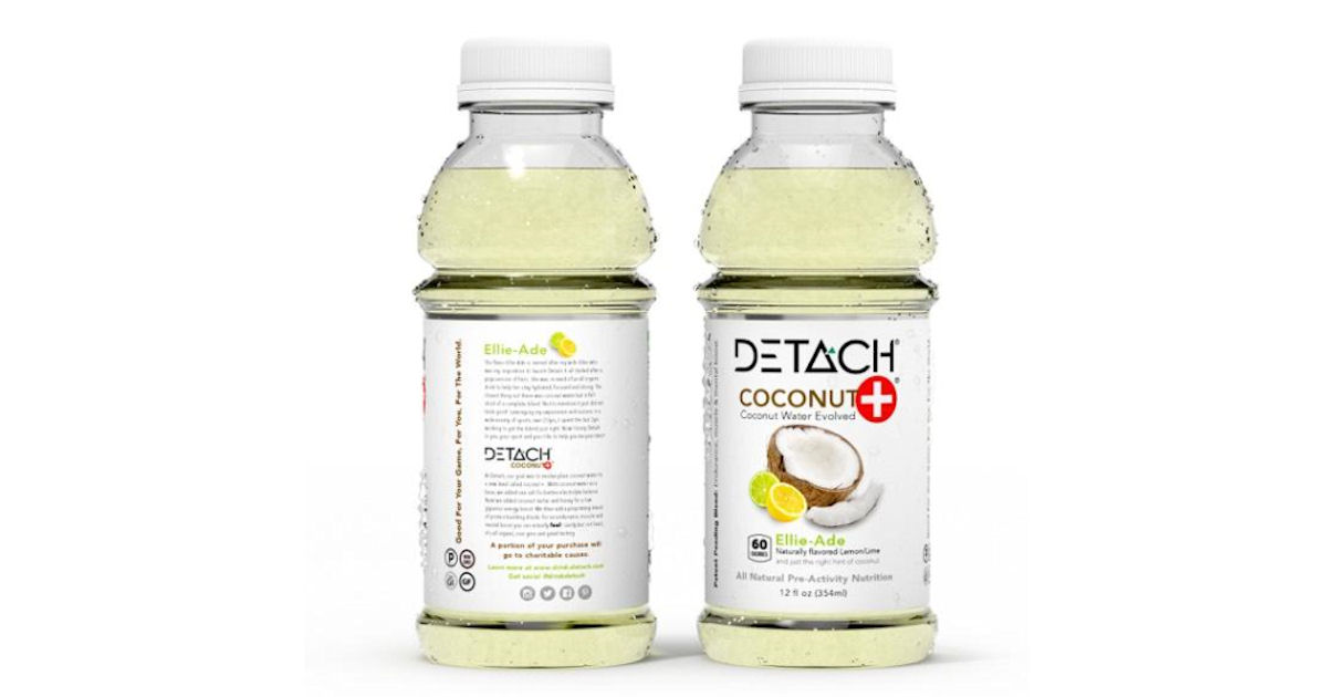 FREE DETACH Coconut+ Water &am...