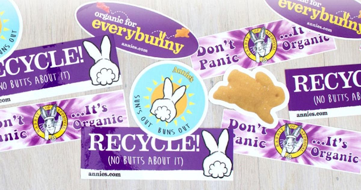 FREE Annie's Homegrown Sticker...
