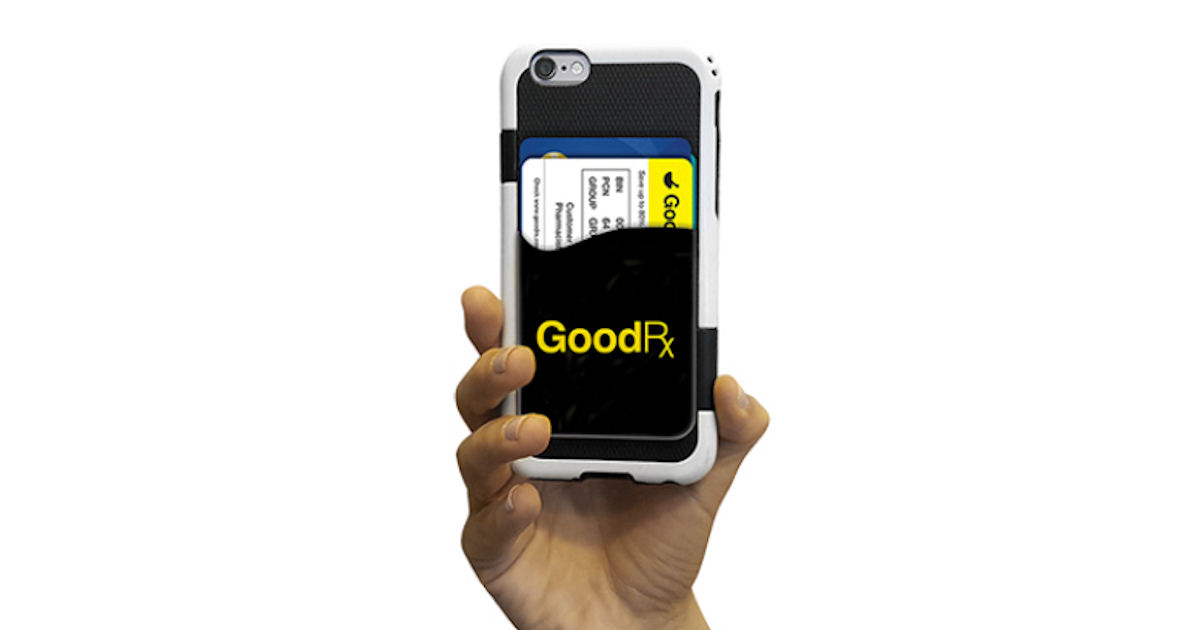 FREE Good RX Phone Wallet...