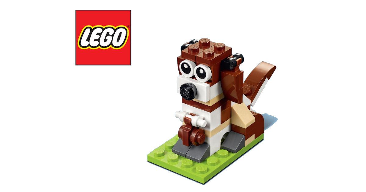 LEGO Mini Model Build - Free LEGO Dog - Free Product Samples