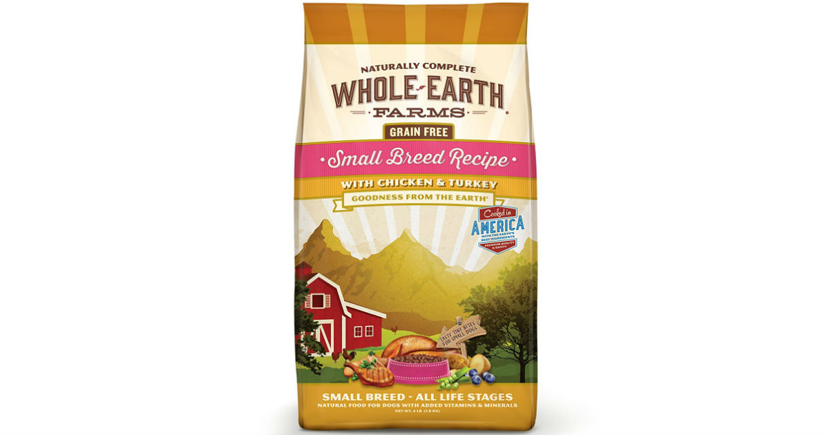 whole earth dog food coupons
