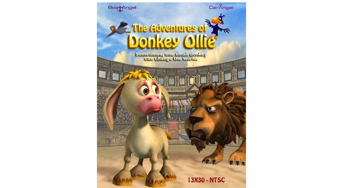 FREE 3-D Animated Tales of Donkey Ollie DVD