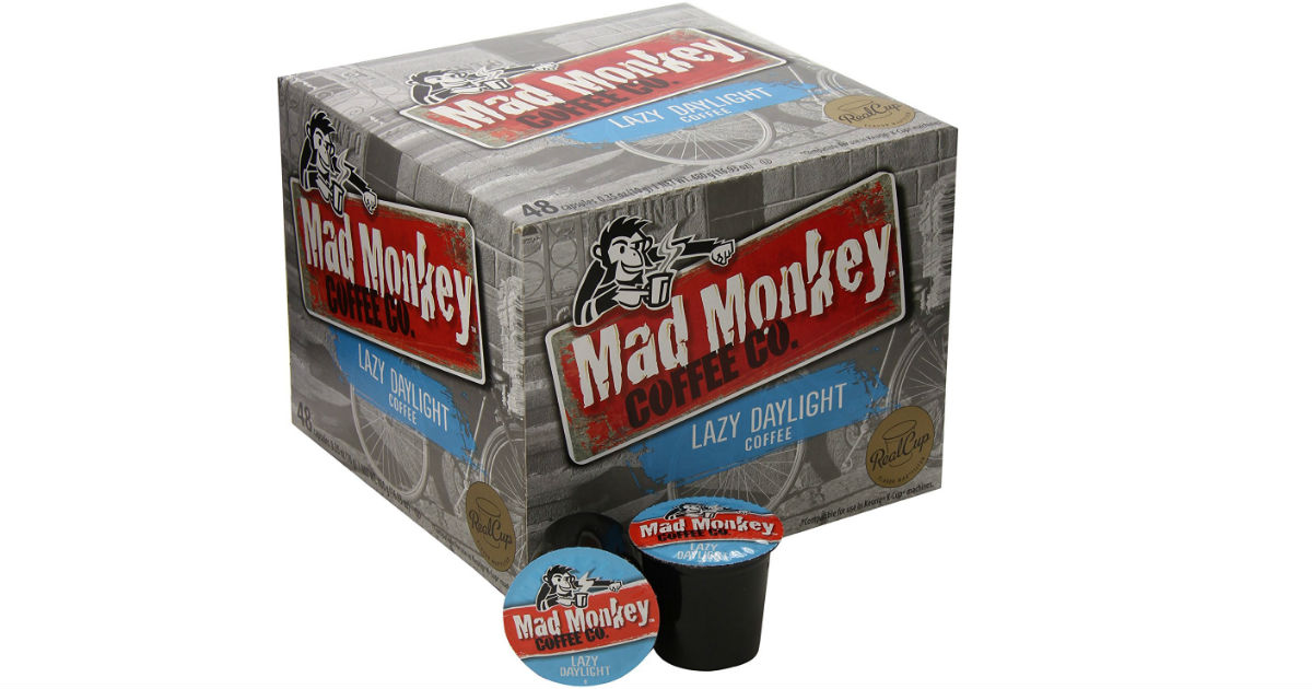 Mad Monkey Coffee on Amazon