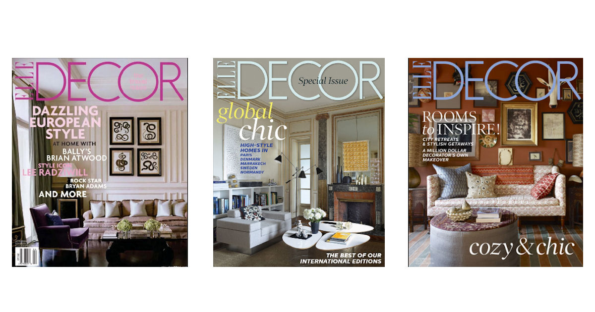 Good Free Subscription To Elle Decor