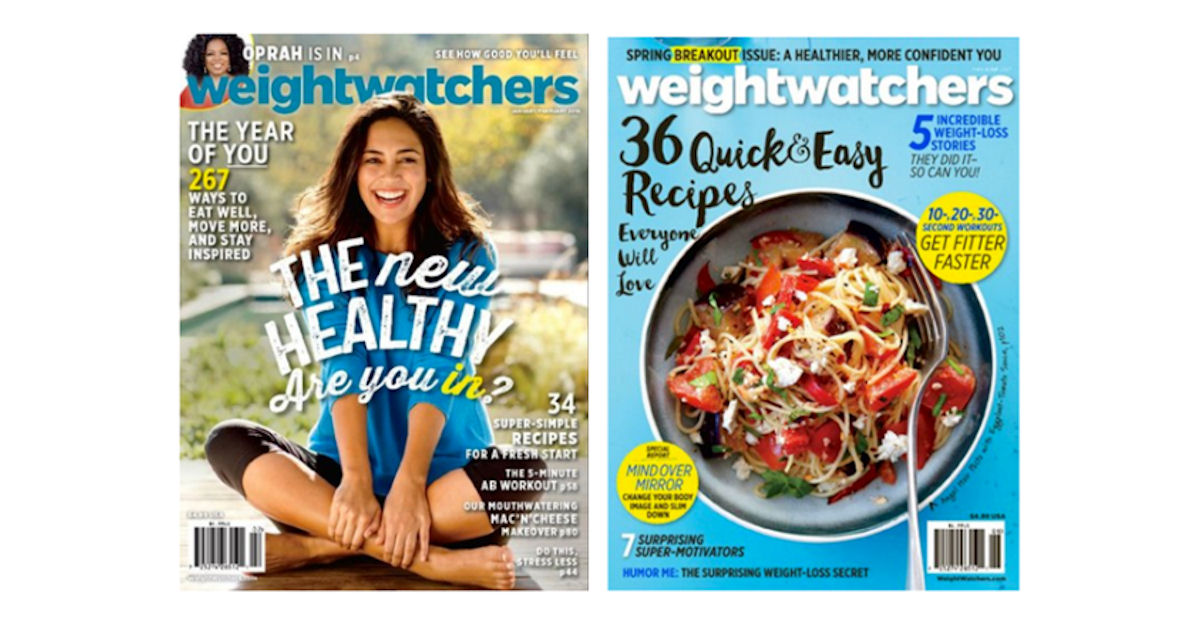 FREE Weight Watchers Magazine.