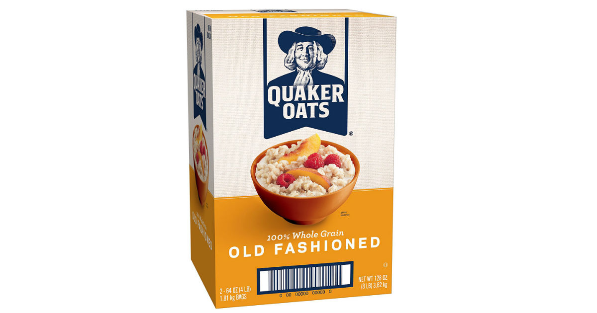 Quaker Oats Old Fashioned Oatmeal Big 128oz Only