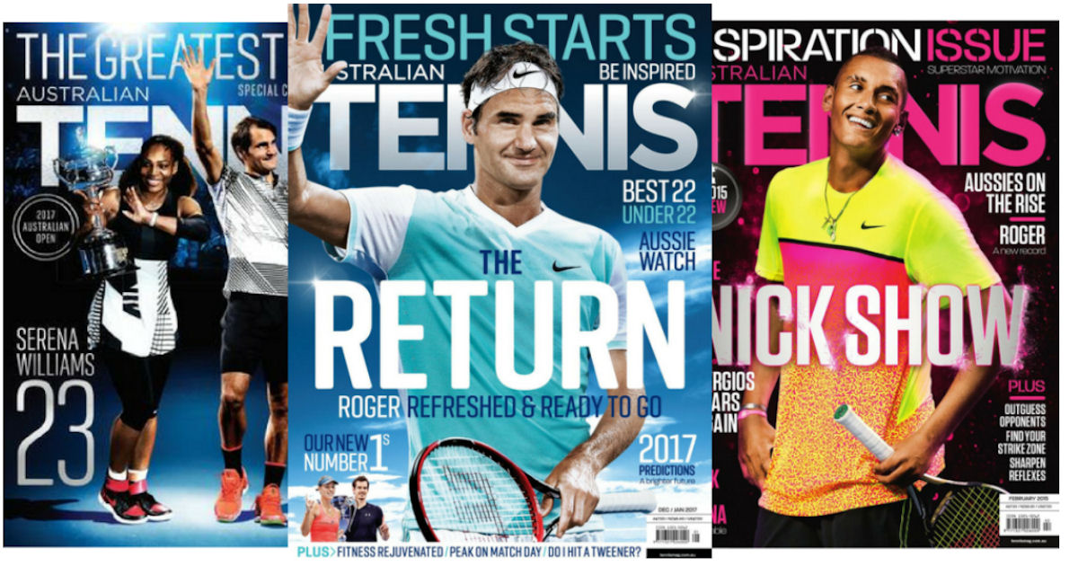 FREE Subscription to Tennis Ma...