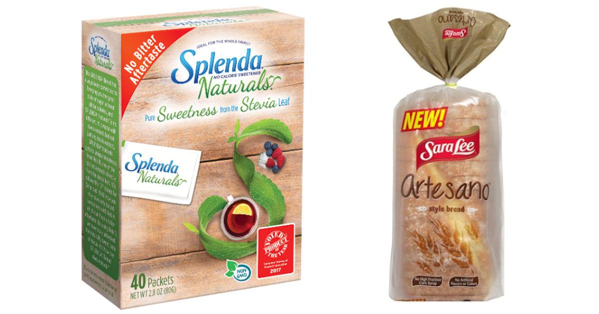 Free Splenda Naturals & Sara Lee Artesano Bread at Acme ...