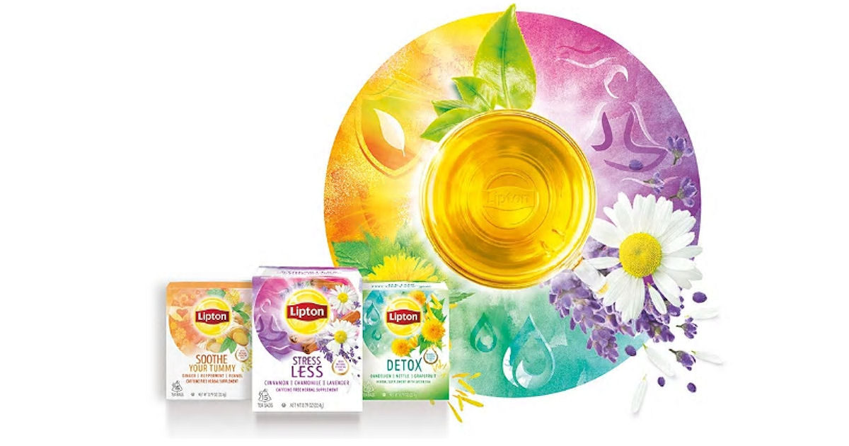 3 FREE Samples of Lipton Wellb...
