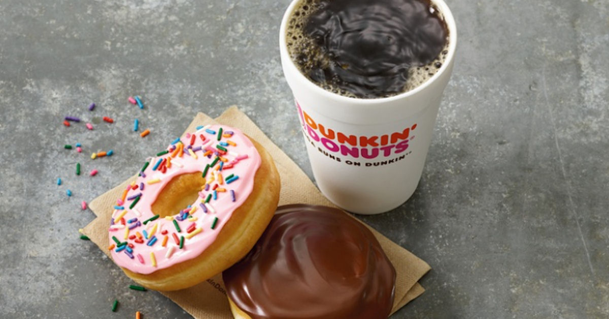 FREE $3 Cash Back at Dunkin Do...