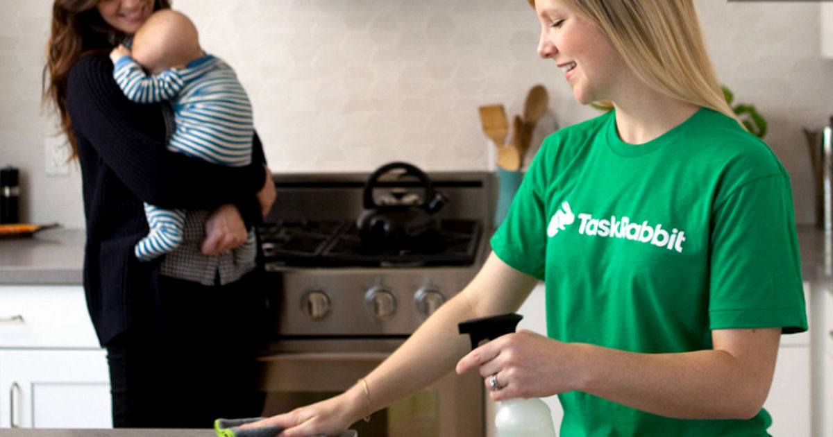 TaskRabbit - 1-Hour of Free House Cleaning - Free Product