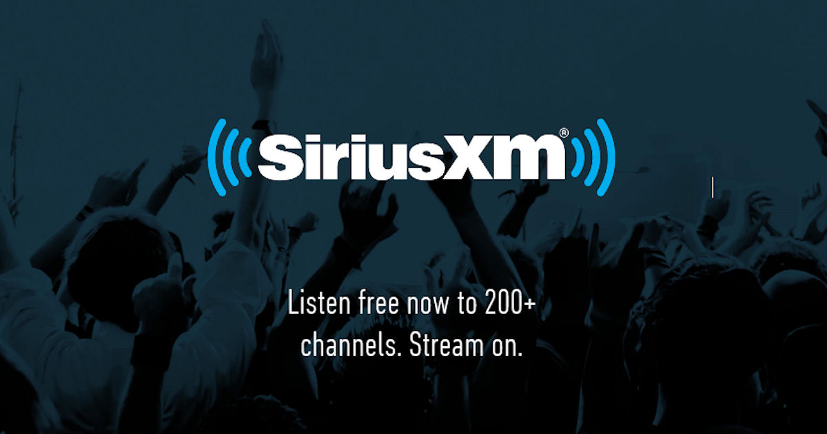 3 FREE Months of SiriusXM Stre...