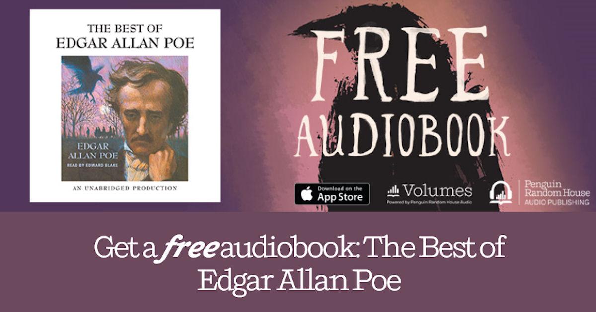free the best of edgar allan poe audiobook free stuff freebies