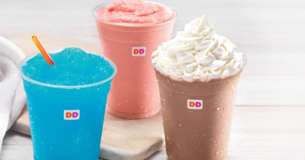 FREE Dunkin Donuts Perks Drink...