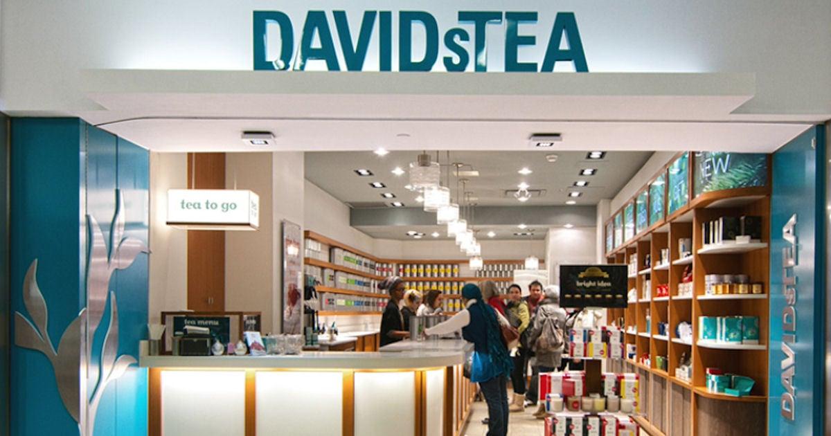 FREE Tea at DAVIDsTEA...