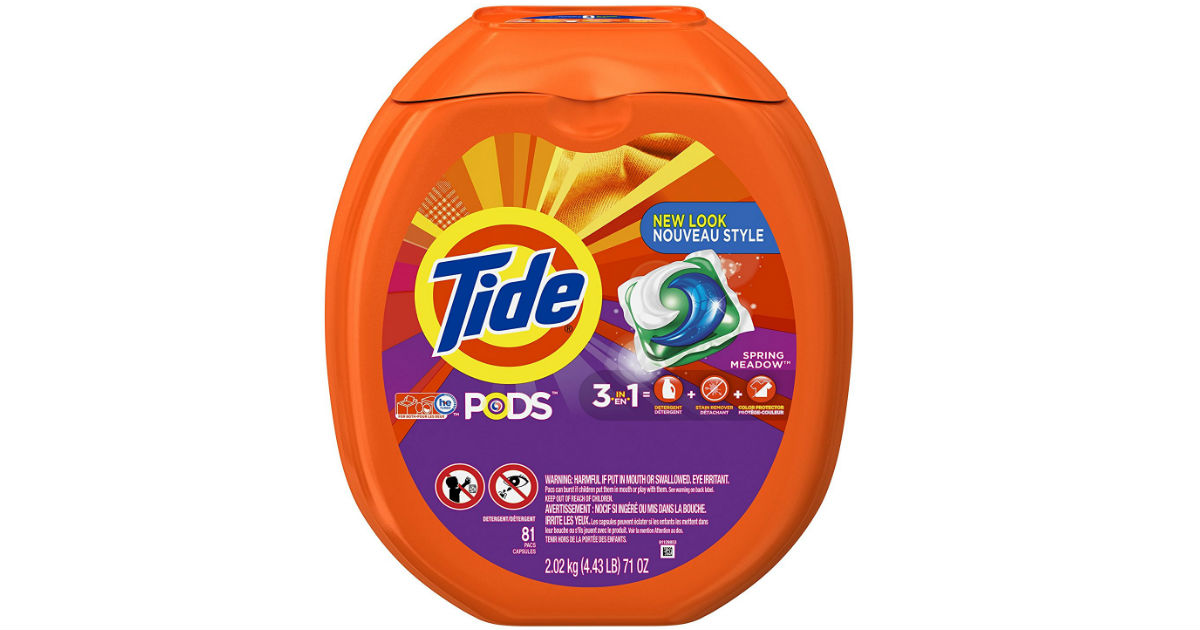 Tide Detergent on Amazon