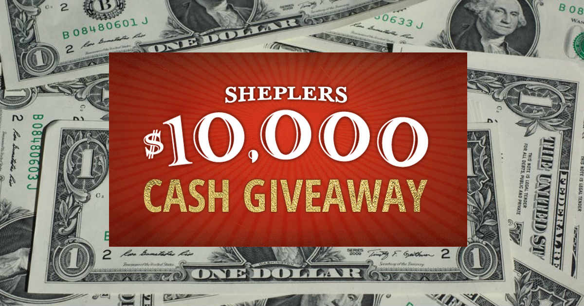10 000 cash sweepstakes