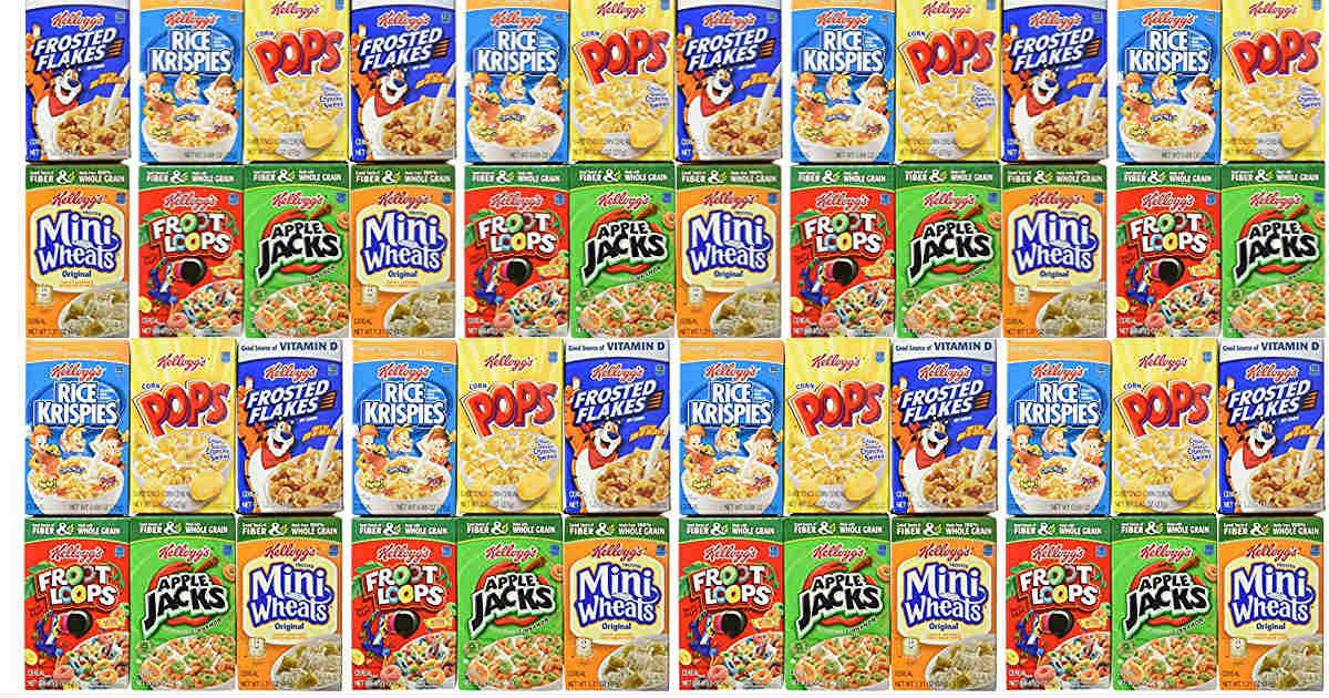 Kellogg's Cereal Single Serve.
