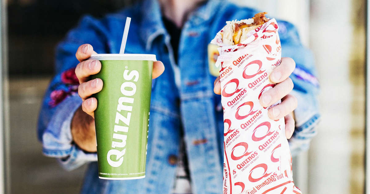 picture relating to Quizno Printable Coupons named Quiznos $1 Off Subs or Salad Obtain - Printable Discount codes
