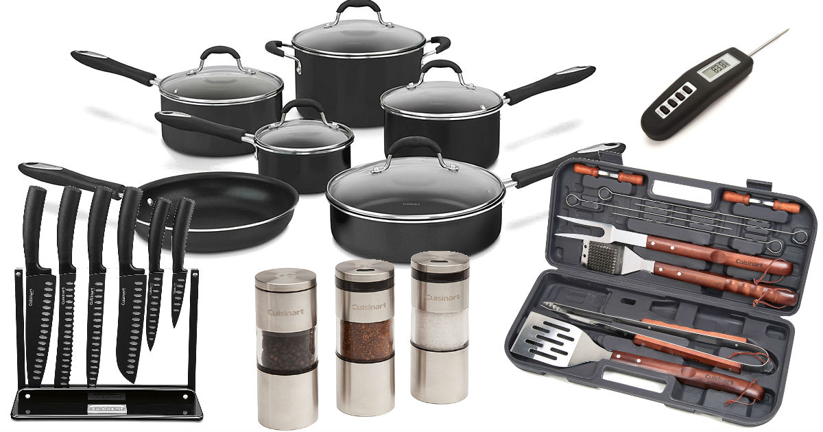 Cuisinart Cookware & Kitchen Tools 65% Off + FREE Shipping ...