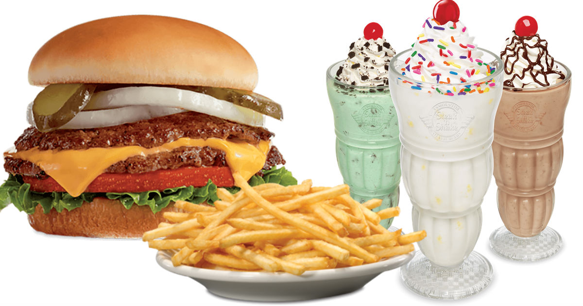 image regarding Steak and Shake Coupons Printable identify Free of charge Burger, Fries Milkshake Discount coupons at Steak n Shake
