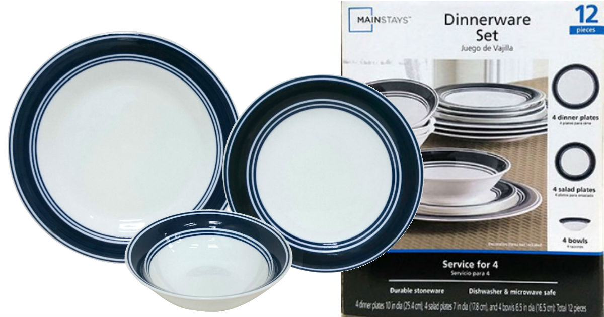 12 Piece Dinnerware Set on Sal...