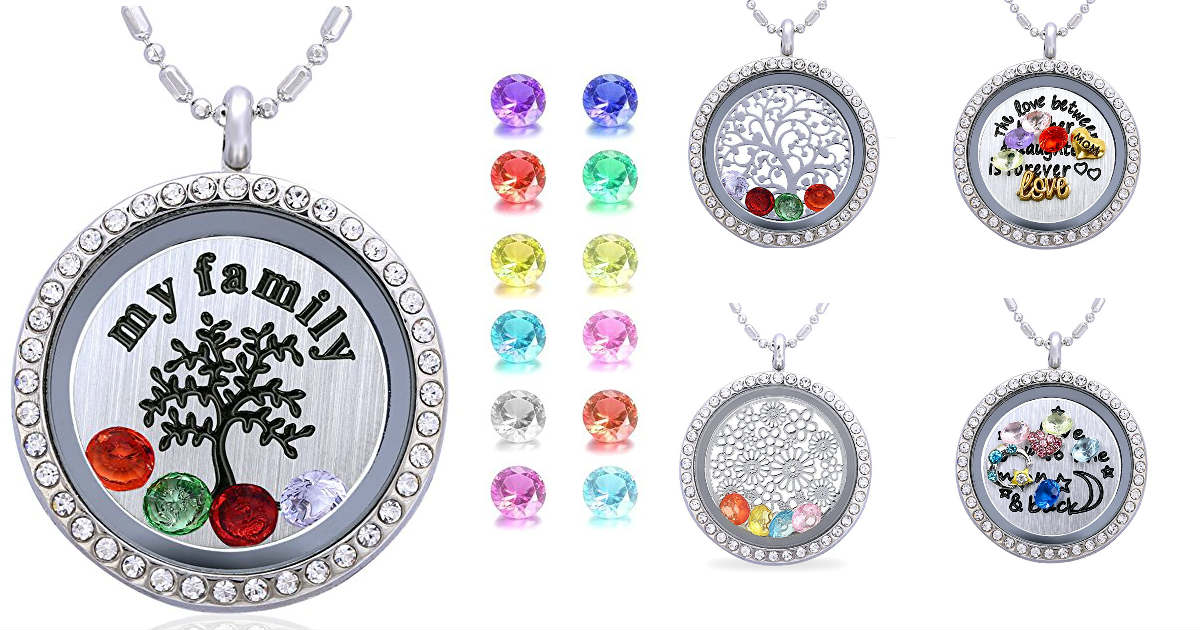 $13.99 Floating Crystal Pendan...