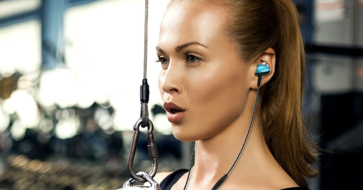 Noise Isolating Sport Earbuds on Amazon