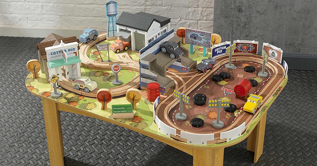 Kidkraft Disney Cars Wooden Table Track Set 59 Reg 150 Daily