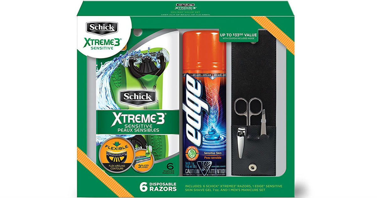 Schick Gift Set on Amazon