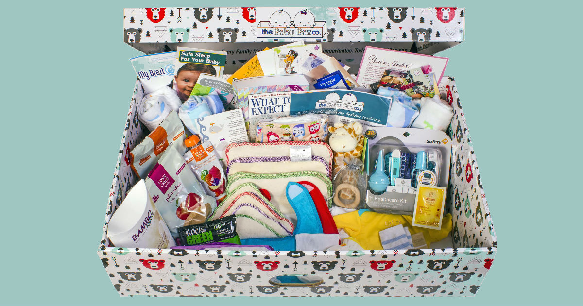 FREE Baby Box from Baby Box Un...