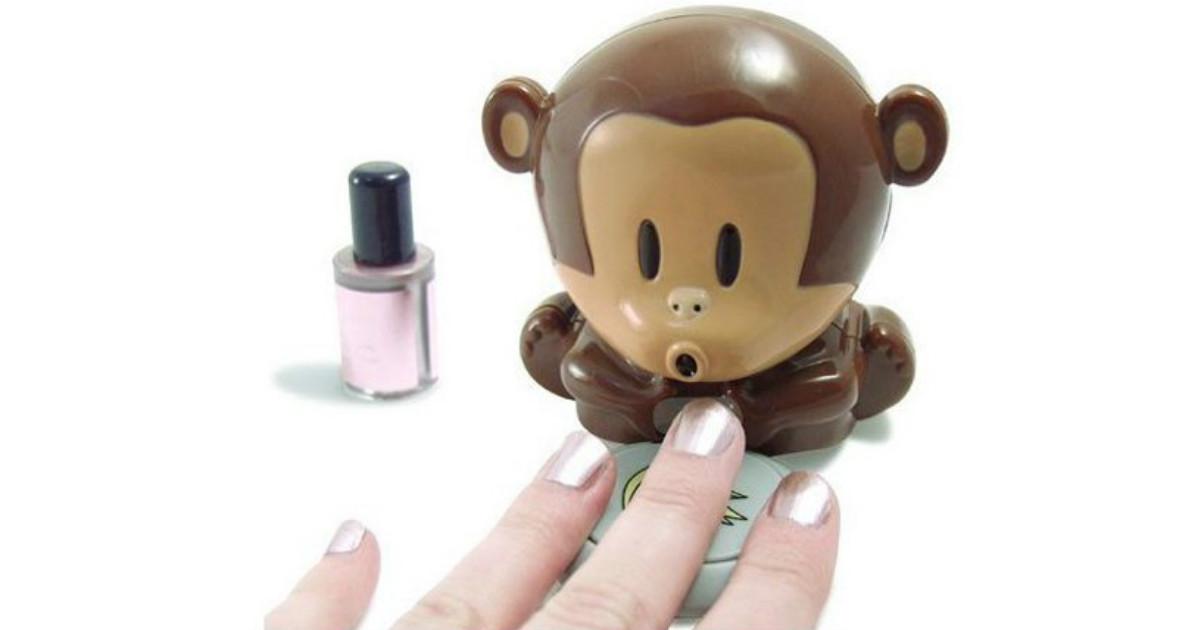 Monkey Manicure Nail Polish Dryer $3.73 + Free Shipping - Daily ...