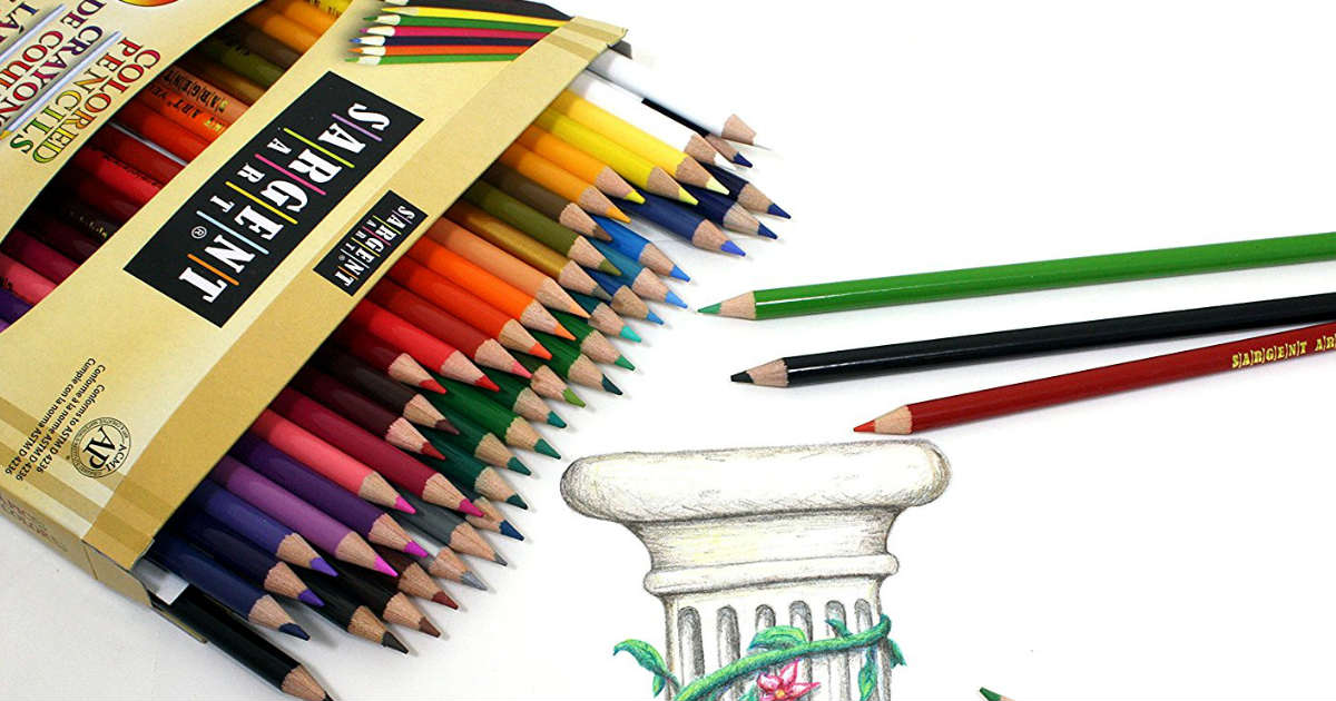 Coloring Pencils on Amazon
