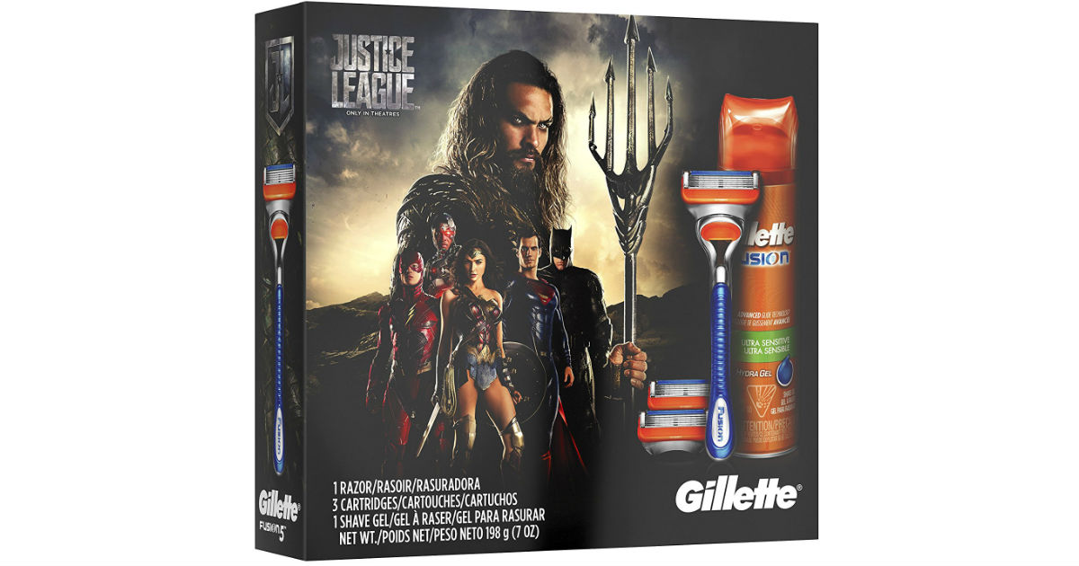 Gillette Fusion Gift Pack on Amazon