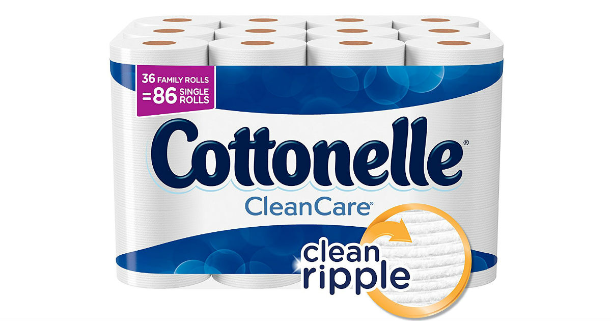 Cottonelle Toilet Paper on Amazon