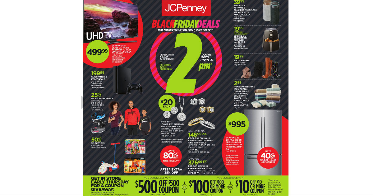 Black Friday JCPenney