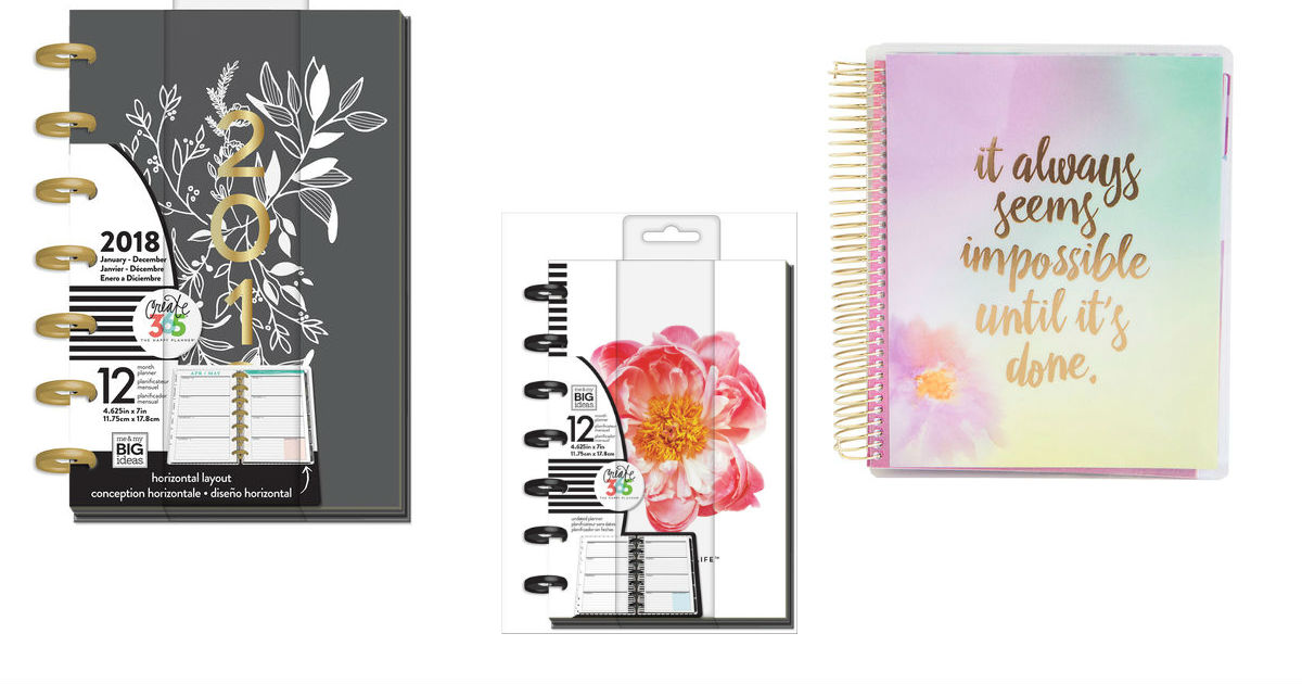 60 Off Brand Name Planners At Michaels Daily Deals Coupons