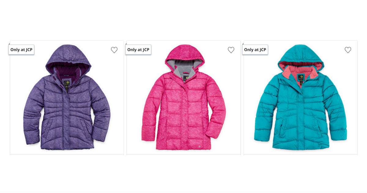 Girls Puffer Jackets