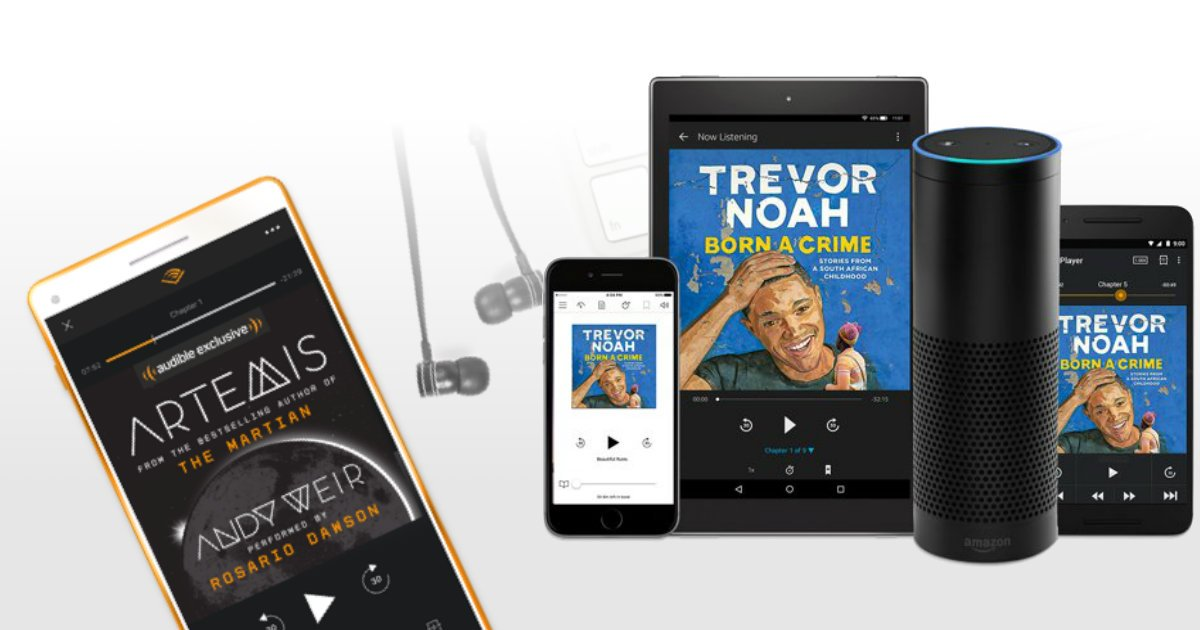 Audible Membership FREE for 3.
