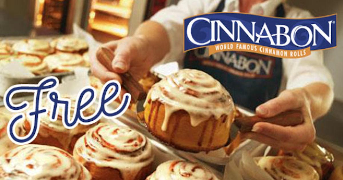 FREE Cinnabon Minibon + Free B...