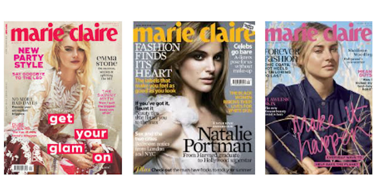 FREE Subscription to Marie Cla...