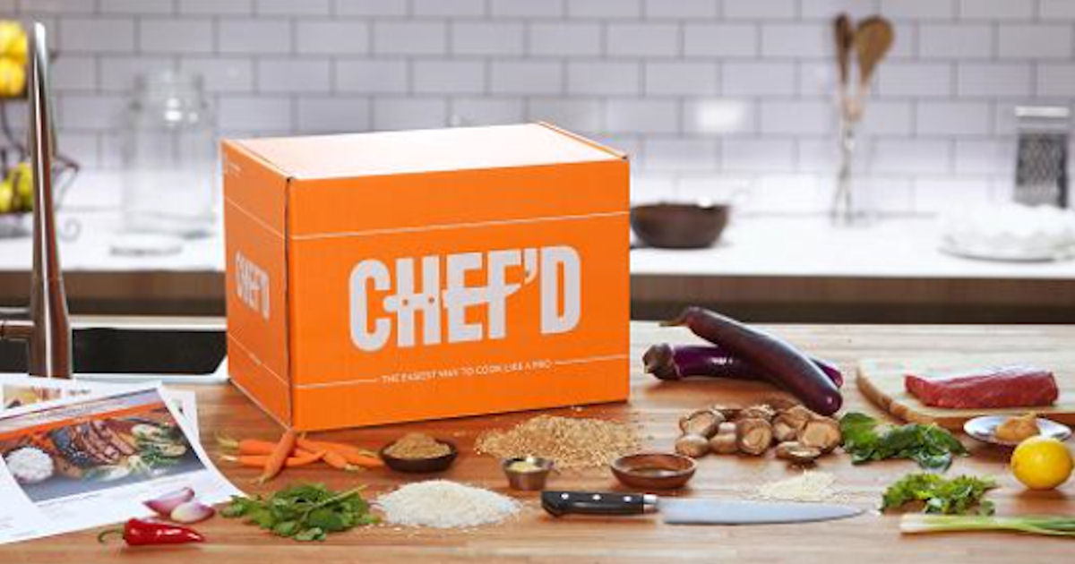 FREE Chef'd Home Cookin' Meal.
