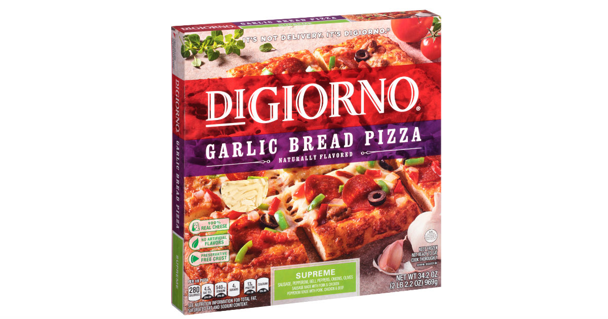 This is a photo of Smart Digiorno Pizza Coupon Printable