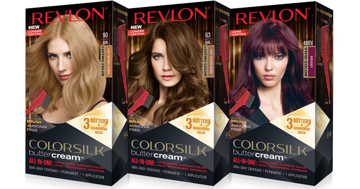 Free Revlon Colorsilk Buttercream Hair Color Free Product Samples